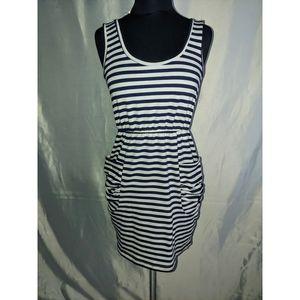 4/$25 Striped Dress with Pockets